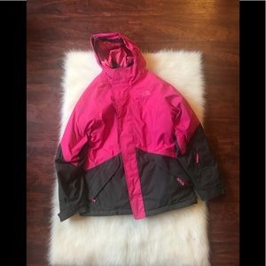 The north face 2 in 1 parka coat